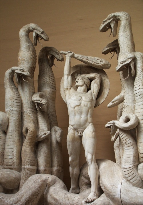 Hercules and the Hydra. 1918.Rudolph Tegner.