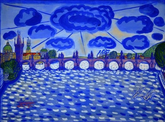 Karel Černý The Charles Bridge.jpg
