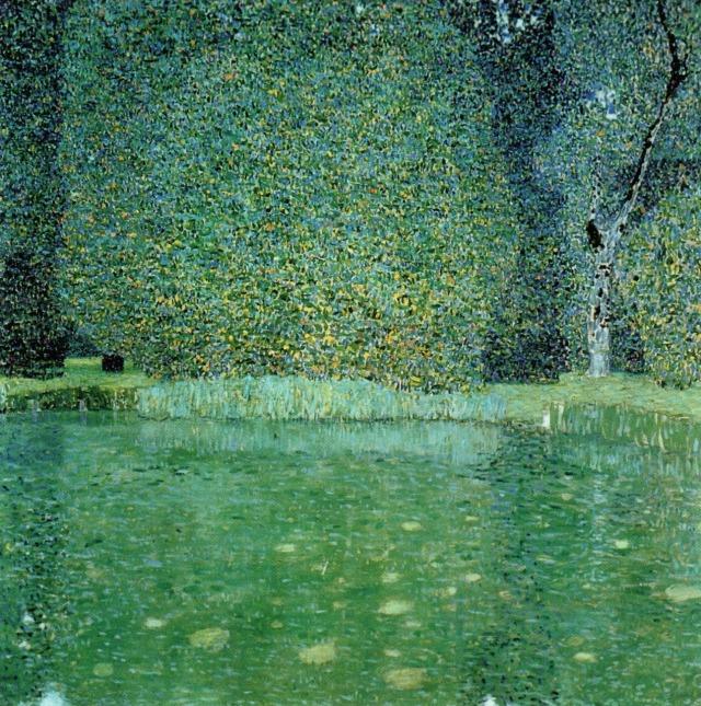 Gustav Klimt (Austrian, 1862-1918), Pond at Schloss Kammer on the Attersee, 1909.jpg