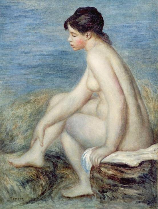 Seated Bather, Pierre Auguste Renoir.jpg