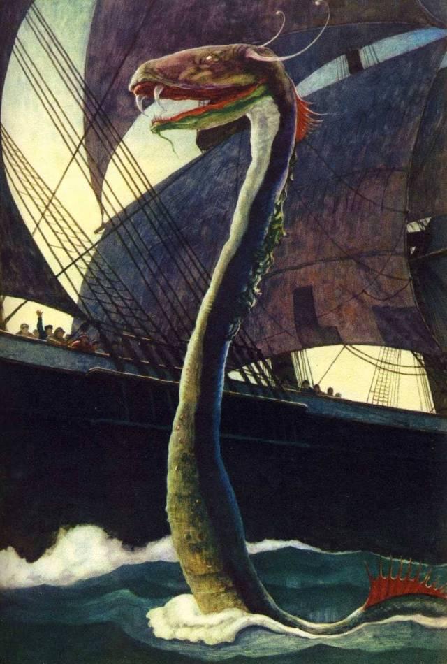 NC Wyeth - Sea Dragon..jpg