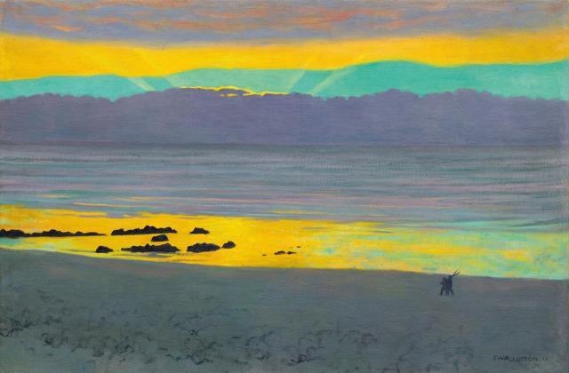 Félix Vallotton - Coucher de soleil jaune et vert (1911).jpg