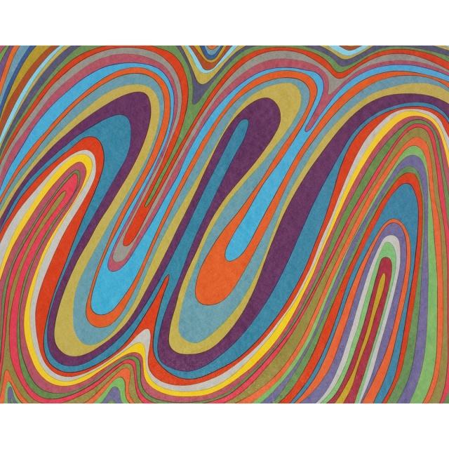 Sol LeWitt 1928–2007Wavy Color Bands.jpg
