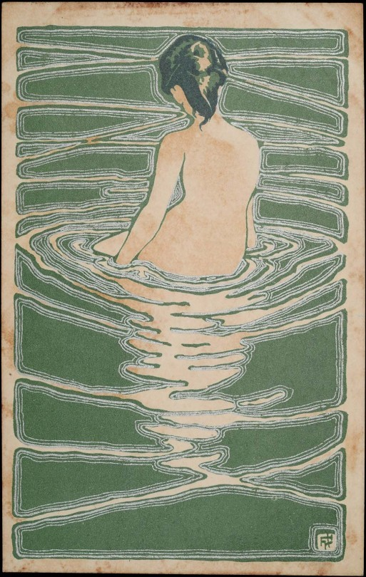 Female Nude Seated in Water  -   Ichijö Narumi .jpg