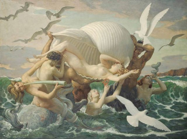 John Bulloch Souter (1890-1972) The birth of Venus.jpg