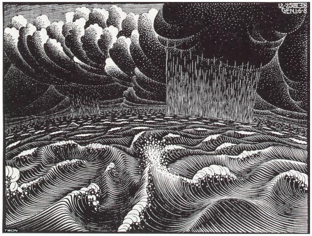 2nd Day of the Creation, 1925, M.C. Escher.jpg