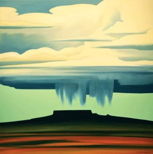 """""""Dan Namingha Thunder Cloud Over Butte"""".jpg"""