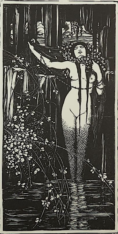 La Sirène ~ 1924 ~ woodcut ~ Francesco Nonni.jpg