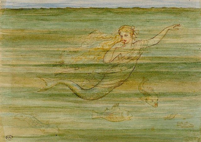 Walter Crane the little mermaid.jpg