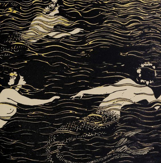 Mermaid illustration from The Craftsman,  1906-1907, Unknown Artist.jpg