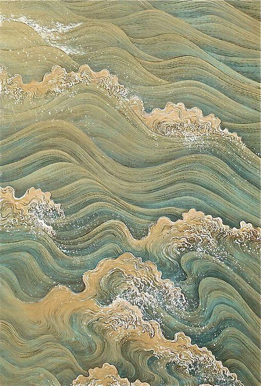 Takata Kiseki    Painting on Silk,  c.1910 .jpg
