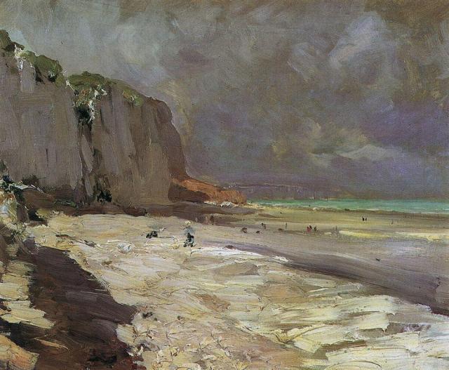 Beach at Dieppe, 1890, Konstantin Korovin.jpg