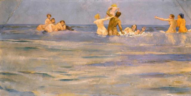 Max Klinger - Tritons and Naiads - 1884.jpg