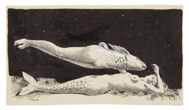 René Magritte (Belgian, 1898-1967), Le rêve de l'androgyne [The androgyne's dream.jpg