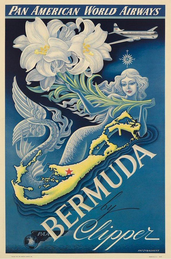 1940s Bermuda Mermaid Poster.jpg