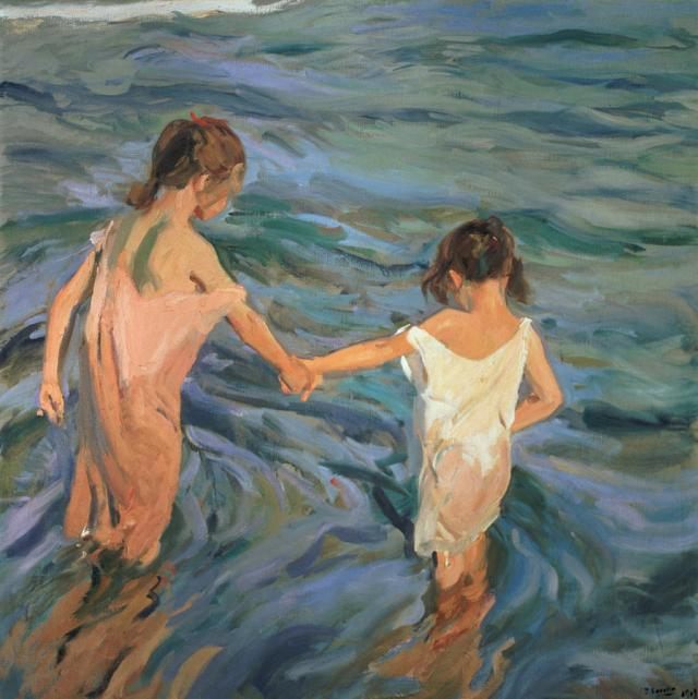 Children in the Sea, 1909, Joaquín Sorolla.jpg
