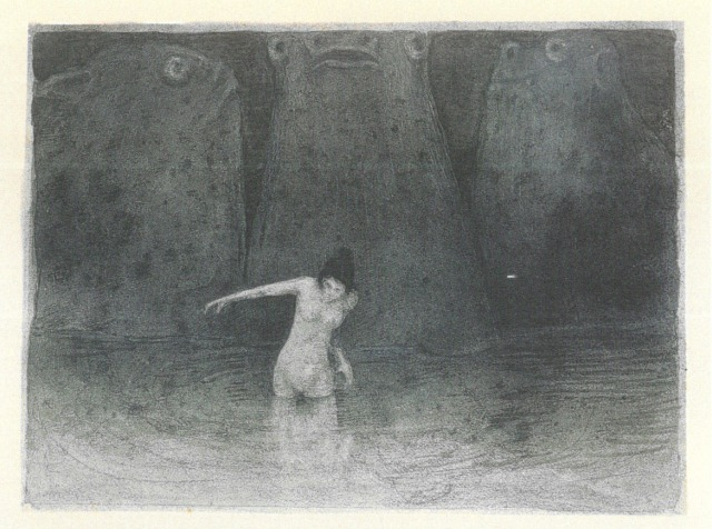 Der Sumpf (Le Marécage) - 1903 - Alfred Kubin.jpg