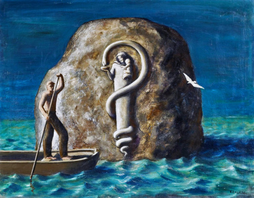Edgar Ende, The Rock in the Sea aka The Relief on the Rock, 1936.jpg