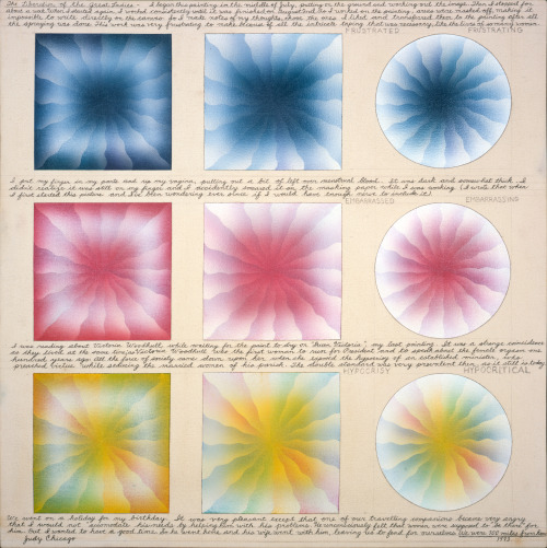 Judy Chicago, The Liberation of the Great Ladies, 1973.jpg