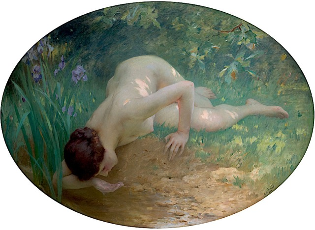 La Baigneuse (The Bather) by Charles Amable Lenoir .jpg