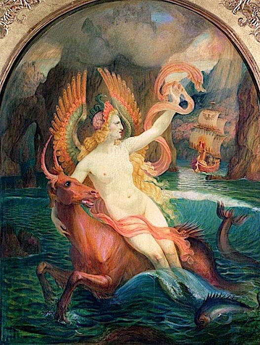 Le Siren ~ circa 1897 ~ Armand Point.jpg