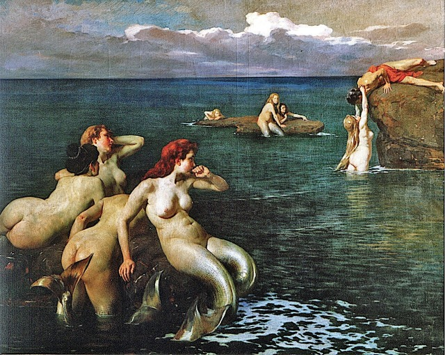 Le Sirene ~ 1901 ~ Cesare Viazzi.jpg