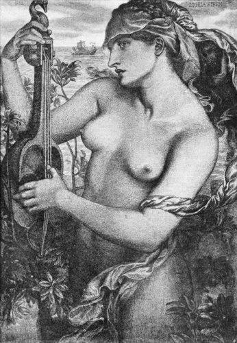 Ligeia Siren, 1873, Dante Gabriel Rossetti.jpg
