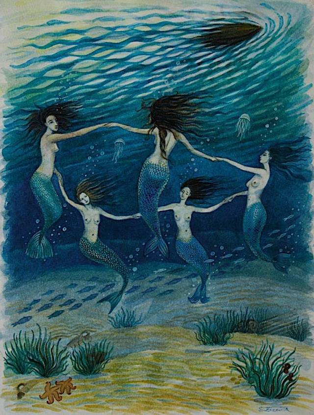 Mermaid's Dance by Svetlana Ziuzina from Ukraine.jpg