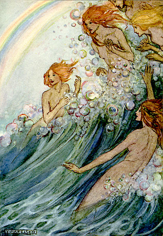 Sea Fairies of the Surf by Emma Florence Harrison.jpg