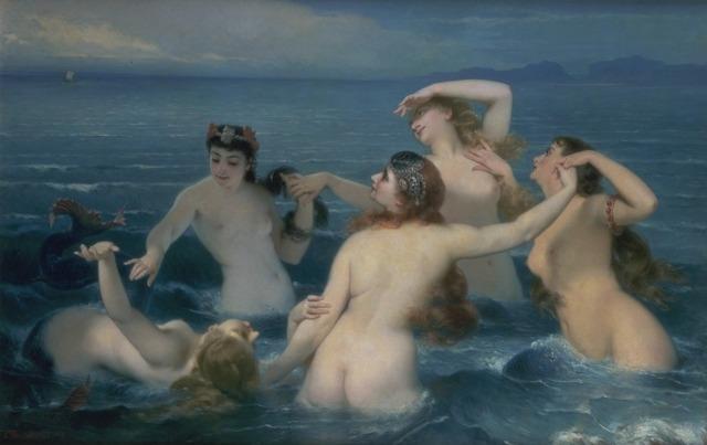 Syrenes ~ 1883 ~ Charles Édouard Boutibonne.jpg