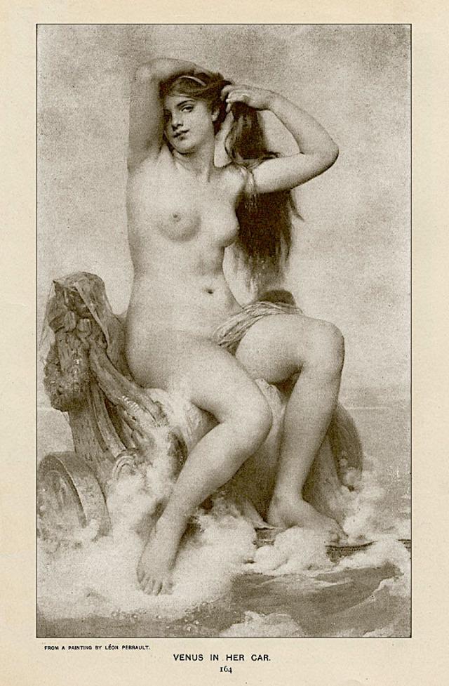 Venus In Her Car by Leon Jean Bazille Perrault.jpg