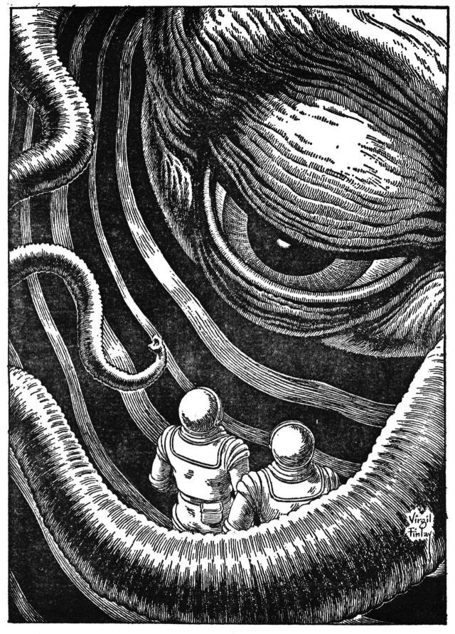 "Virgil Finlay (1914-1971), ""Worlds of IF"", October 1966.jpg"