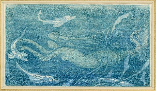 1894 ~ Ex libris woodcut bookplate ~ John Dickson Batten.jpg