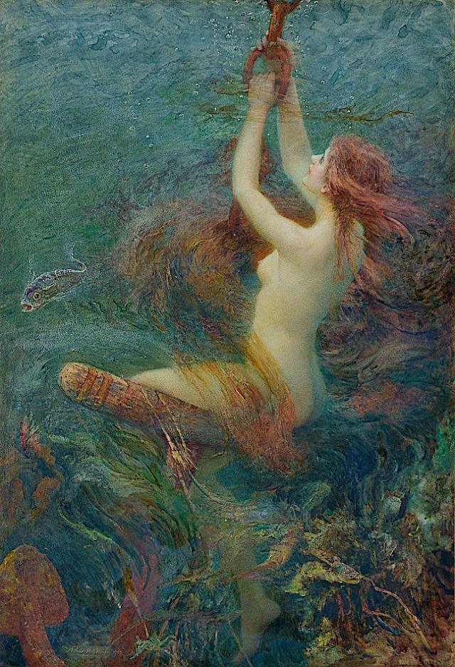 A Fantasy of the Deep ~ 1903 ~ Arthur Hopkins