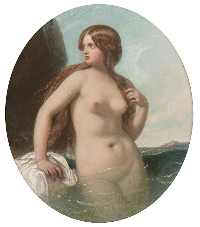 A Nereid or A Sea Nymph ~ 1856 ~ William Edward Frost