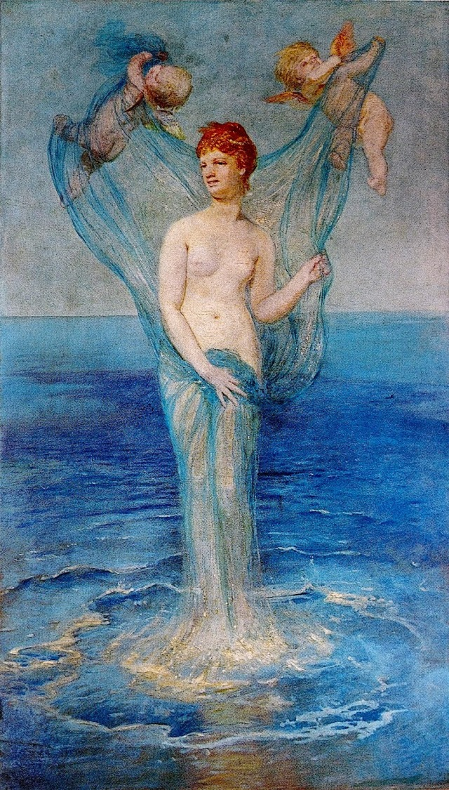 Birth of Venus ~ 1869 ~ Arnold Böcklin
