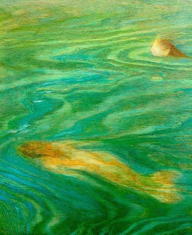 Celeste Paulick two mermaids