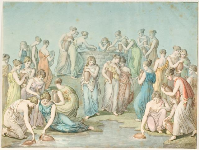 (The Punishment of the Danaids in English) by C. G. Kratzenstein Stub