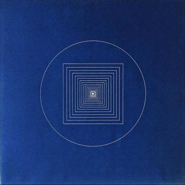 Tony Delap, Mizar, 1966, Blueprint,