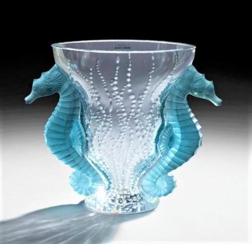 Poseidon Vase by Rene Lalique 1920s