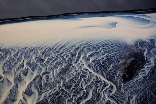 Stephen King 金昌民 River Delta Iceland 河川二, 2015