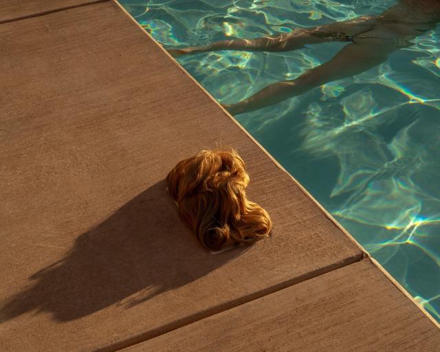 Tania Franco Klein (Mexican, b. 1990, Mexico City, Mexico) - Pool, Wig .jpg