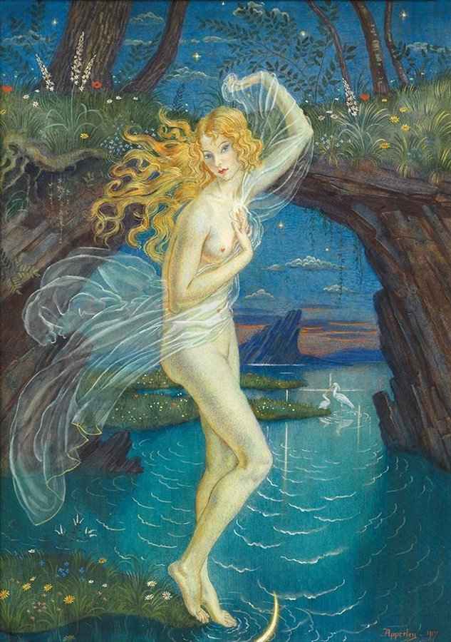 Venus by George Owen Wynne Apperley, 1917