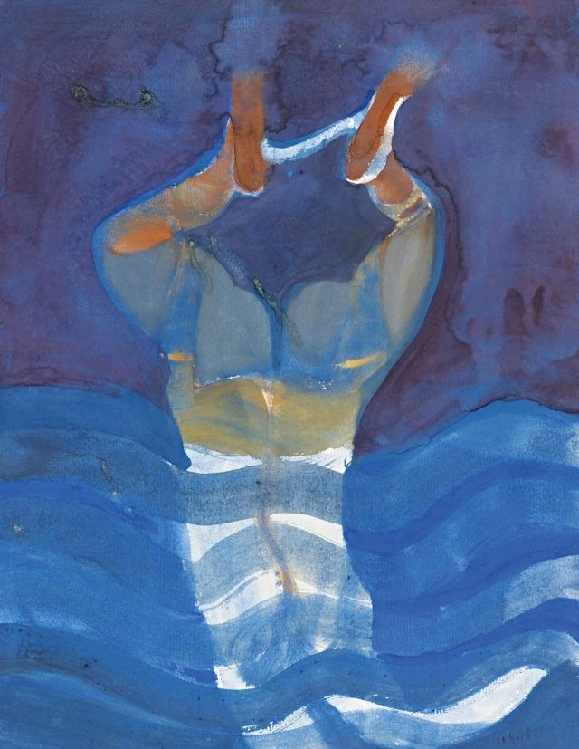 Francisco Toledo (Mexican, 1940-2019), Diver, 1963.jpg