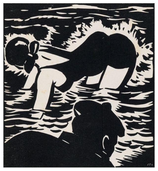 Frans Masereel  The Mermaid, 1925 .jpg