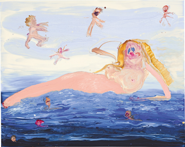 Genieve Figgis (Irish, b. 1972), Birth of Venus (After Alexandre Cabanel), 2018..png