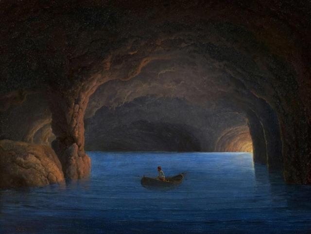 Georg Emil Libert (Danish,1820-1908) - Fishermen in the Blue Grotto in Capri.jpg