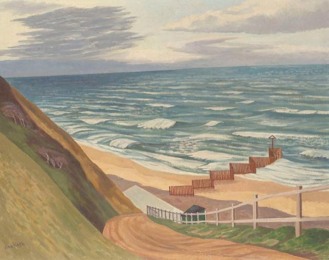 John Nash (British, 1893-1977), The Breakwater.jpg