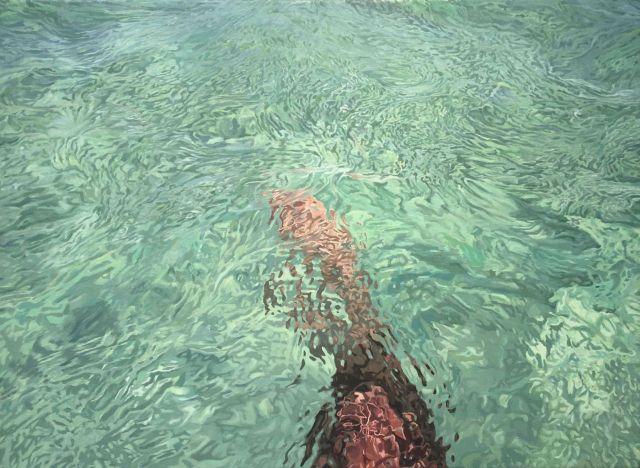 Julio Valdez (Dominican, b. 1969), Cayo Arenas Abstraction III, 2016.jpg