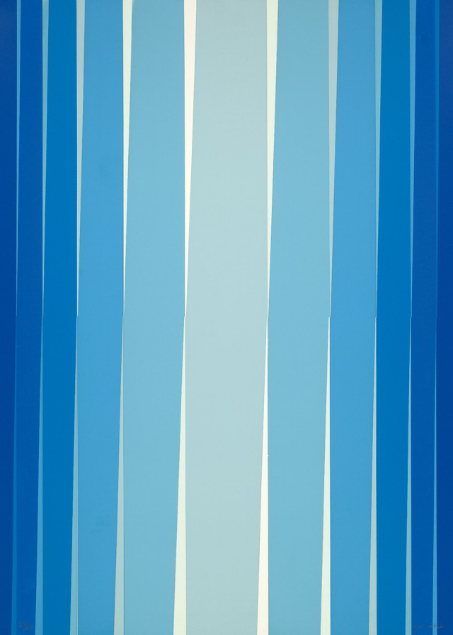 Lothar Quinte (German, 1923-2000), Streifenkomposition [Composition with Stripes], 1972.jpg